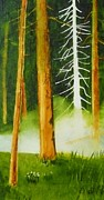 Beaver Pond Paintings - Forrest Phantom by Buster Dight
