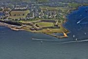 New York Yacht Club - Fort Adams Newport Rhode Island by Duncan Pearson