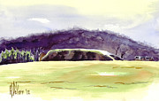 Arcadia Mixed Media Originals - Fort Davidson Battlefield Mid Day by Kip DeVore