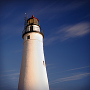 Lighthouse Digital Art Originals - Fort Gratiot Lighthouse by Gordon Dean II