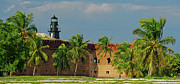 Dry Tortugas Prints - Fort Jefferson Print by Henri Irizarri