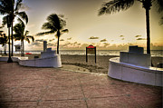 Beach Photograph Photos - Fort Lauderdale by Kelly Wade