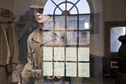 Harkers Island Photos - Fort Macon Through Glass by East Coast Barrier Islands Betsy A Cutler