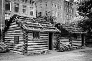 Tennessee Historic Site Prints - fort nashborough stockade recreation Nashville Tennessee USA Print by Joe Fox