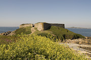 Landschaften Framed Prints - Fort Pezeries - Plainmont - Isle of Guernsey. Framed Print by Urft Valley Art