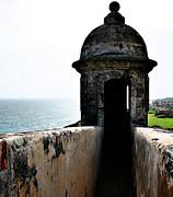 Clouds Photographs Posters - Fort San Juan Lookout Poster by Gilbert Artiaga