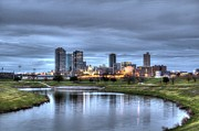 Metro Metal Prints - Fort Worth Color Metal Print by Jonathan Davison