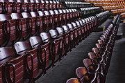 Stockyards Framed Prints - Fort Worth Stockyards Coliseum Seating Framed Print by Jeremy Woodhouse