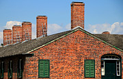 Chimneys Framed Prints - Fort York 2 Framed Print by Andrew Fare