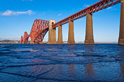 Mid Span Prints - Forth Rail Bridge Print by Gary Finnigan
