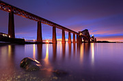 Built Structure Art - Forth Railway Bridge by Angus Clyne