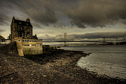 Italian Restaurant Prints - Forth Road Bridge Print by Rob Hawkins