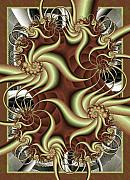 Swirl Digital Art Framed Prints - Fortissimo Framed Print by David April