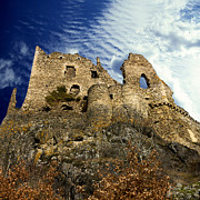 Below Framed Prints - Fortress Framed Print by Bernard Jaubert