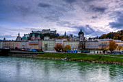 Salzburg Prints - Fortress City Print by Anthony Citro
