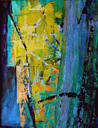 Yello Paintings - Fortress by Ethel Vrana