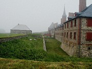 Barrack Digital Art Posters - Fortress of Louisbourg Poster by Dmytro Toptygin