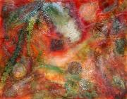 Abstract Expressionist Art - Fortune by Maz