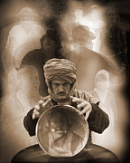 Haunted Mansion  Photos - Fortune Teller by Liezel Rubin