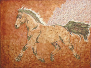 Horses Paintings - Forward by Gabrielle England