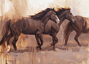 Impressionistic Horse Paintings - Forward by JQ Licensing