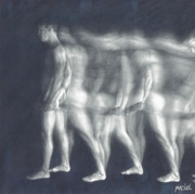 Nudes Drawings Originals - Forward Thinking by Maciel Cantelmo