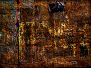 Texture Metal Prints - Foundation Six Metal Print by Bob Orsillo