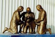 Bronze Sculptures - Founding Fathers patriotic bronze statue by Stan Watts by Stan Watts