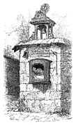 Abandonment Framed Prints - Foundling Tower, 19th Century Framed Print by