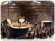 Foundry Prints - Foundry, 1866 Print by Granger