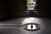 Contemplative Metal Prints - Fountain at Alcazar Metal Print by Mark Wagoner