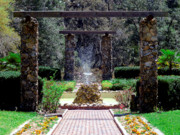 Palatka Photos - Fountain  by Bob Johnson