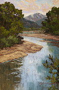 Pikes Peak Posters - Fountain Creek Poster by Chula Beauregard