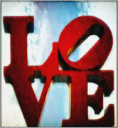 Love Statue Prints - Fountain of Love  Print by Bill Cannon