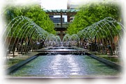Michael Maynor Art - Fountains At City Creek by Michael Maynor