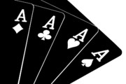 Cards Photos - Four Aces II by Tom Mc Nemar