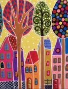 Karla Gerard - Four Houses And Trees