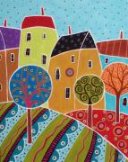 Karla Gerard - Four Houses Three Trees...