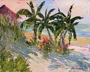 Oats Originals - Four Palms by Jane Woodward
