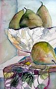 Pears Originals - Four Pears by Mindy Newman