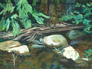 Four Rocks Ashby Print by Claire Gagnon