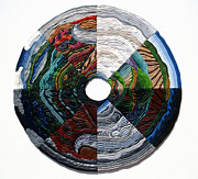 Landscapes Reliefs - Four Seasons - Day and Night by Arla Patch