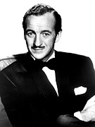 Suave Posters - Four Star Playhouse, David Niven Poster by Everett