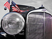 4th July Prints - Fourth of July-Chevvy  Print by Douglas Barnard