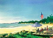 Fourth Of July Painting Framed Prints - Fourth of July Framed Print by Ray Cole
