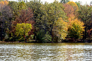 Indiana Landscapes Photo Prints - Fowler Lake 4 Print by Franklin Conour