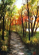 Dappled Light Originals - Fox River Trail by Carrie Auwaerter
