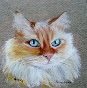 Foxey Print by Jamie Frier