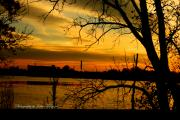 Foxriver Framed Prints - Foxriver sunset 1 Framed Print by Joshua Fronczak