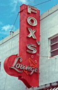 Route 66 Framed Prints - Foxs Lounge Framed Print by Matthew Bamberg